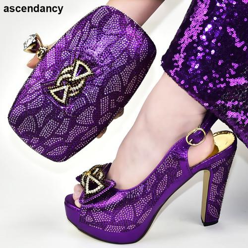 Rhinestone Italy Shoes