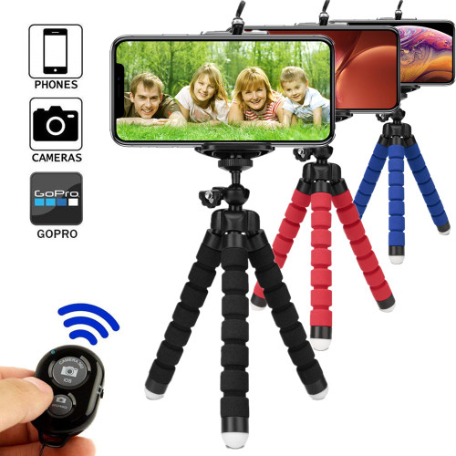 phone holder bluetooth tripods