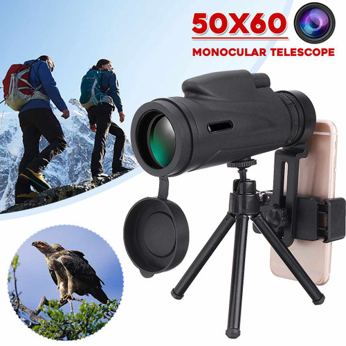 50X60/80x100 Professional Monocular Powerful Telescope for Mobile