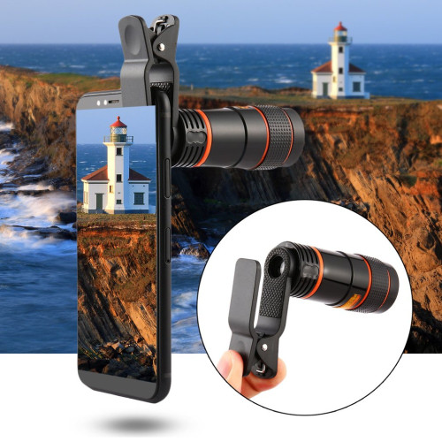 Portable Mini High Magnification Monocular Telescope