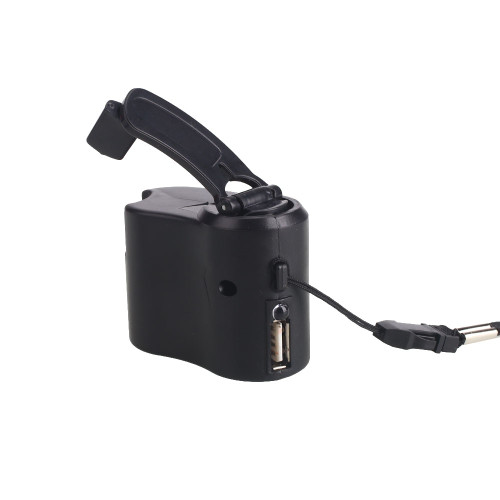 600mA Portable USB Hand Cranked Power Generator Outdoor Emergency