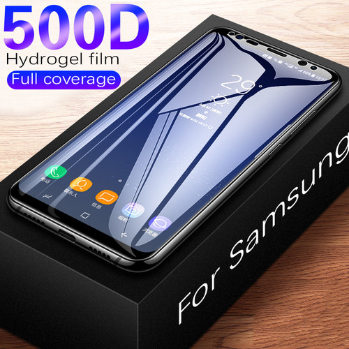 500D Full Curved Tempered Glass For Samsung Galaxy S9 S8 Plus Note 9 8 Screen Protector For Samsung S7 Edge S9 Protective Film