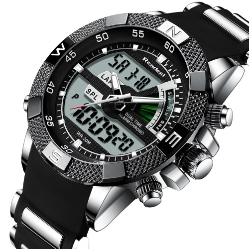 Led Quartz Men Watch