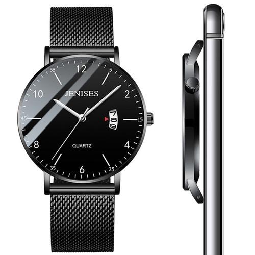 Man Ultra Thin Wrist Watch
