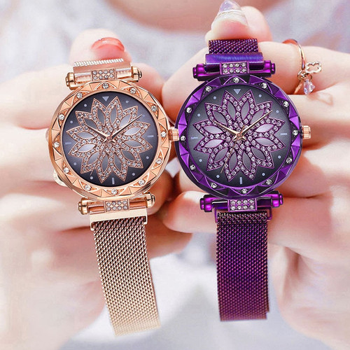 Top Luxury Brand Crystal Fashion Watches