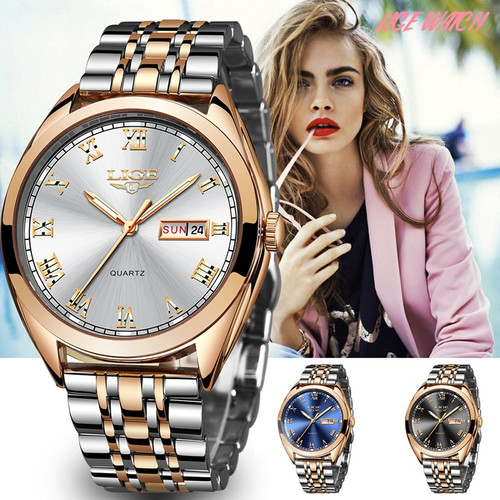 Wrist Watch Girl Clock