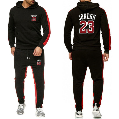 Sportswear Sweatpants Set Pullover Hoodies