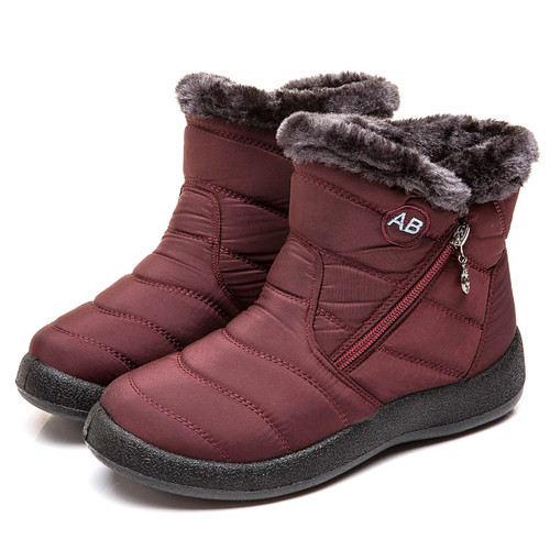 Women Boots 2019 New Waterproof Snow Boots