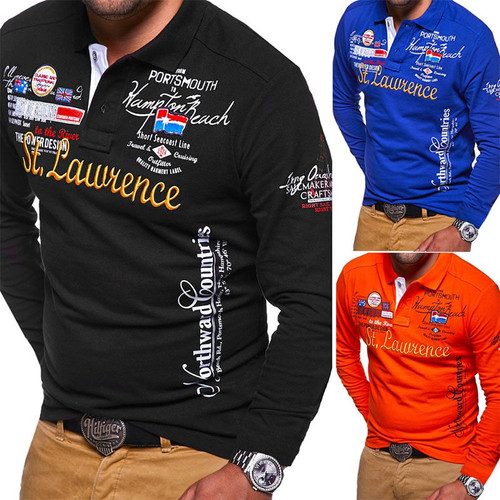 Thicker Men Polo Shirt Polo Shirts