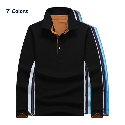 shirts hit color collar mens tops