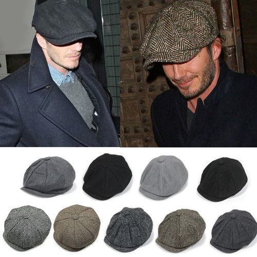 Warm Casual Gatsby Flat Beret Hats