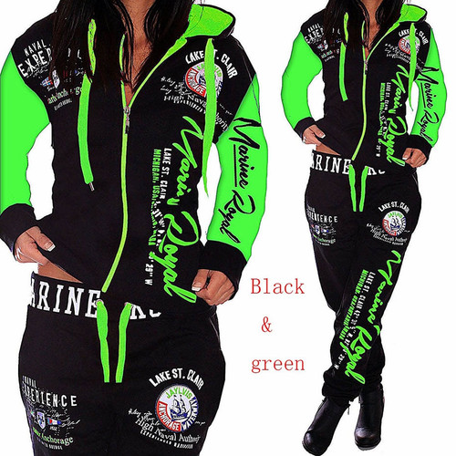 Matching Suit Women Tracksuit