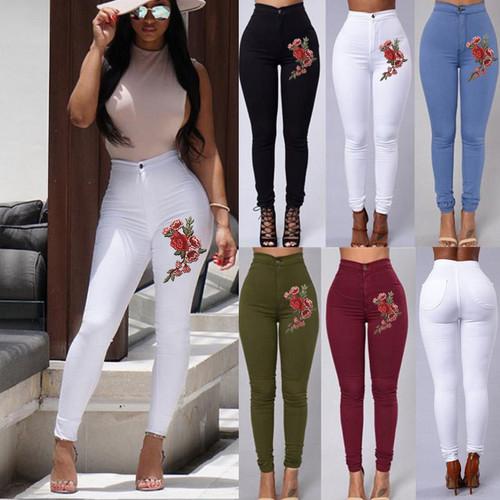 women floral leggings,women pant,