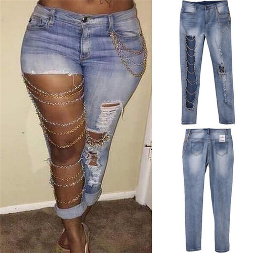 Denim Vintage Straight Jeans