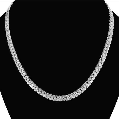 Collares 7MM womens Chain Jewelry