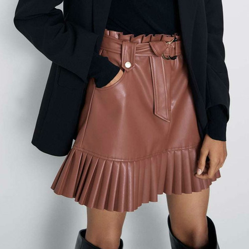 Black Skirt Falda Mujer
