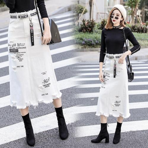 Skirts Large Size Saias S/5XL D300