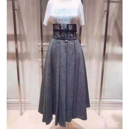 Casual Gothic Runway Skirt