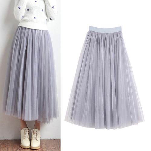 Three-layer Mesh Tutu Fairy Streetwear
