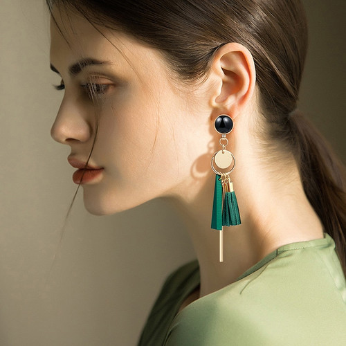 Female Tassel Long Women Earrings Jewelry