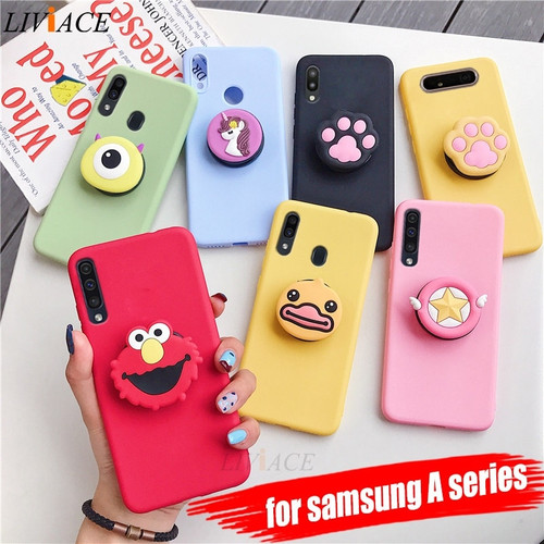 cute stand soft back cover