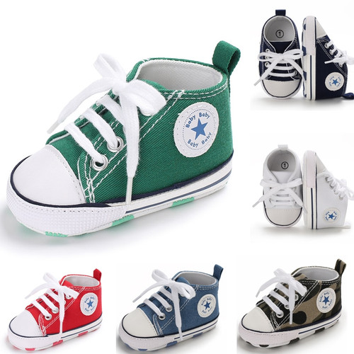 15 Colors Unisex Newborn First Walkers Crib Shoe