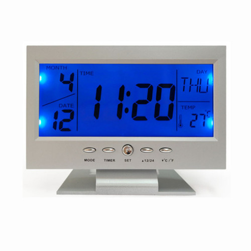Mute Clock Travel Home Office Desk Clocks 2018