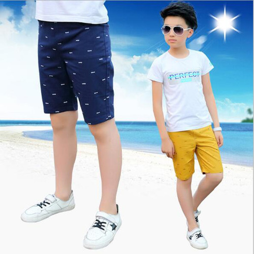Boys casual pants boys cotton knee