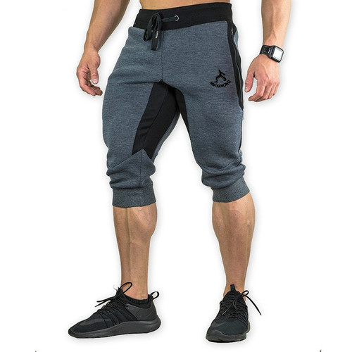 Men's Cotton Casual shorts 3/4 Jogger