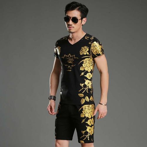 Mens Suit Shorts 2 Piece