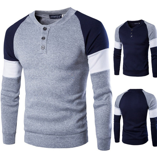 Winter Mens Sweater Slim Knitwear