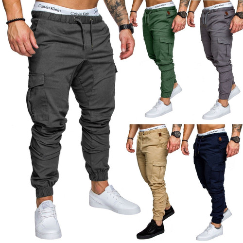 Men Pants Hip Hop Harem Joggers