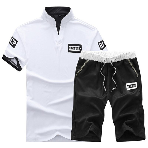2pcs summer men sportsuit