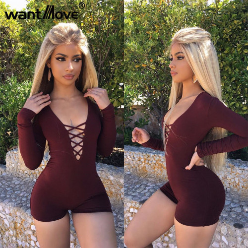 Bodycon Short Jumpsuit
