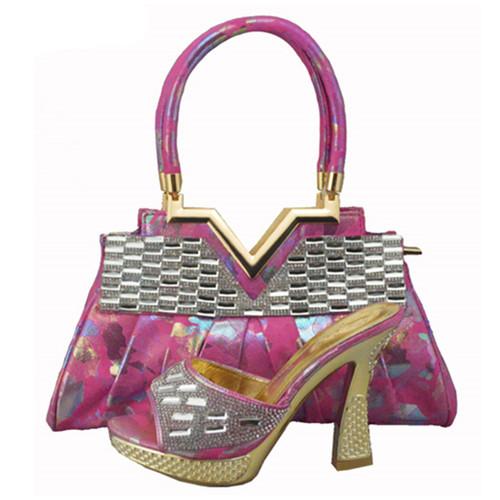 Heels + bag pair