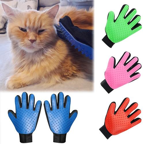 Wool Glove Pet Grooming Glove Cat Hair Removal
