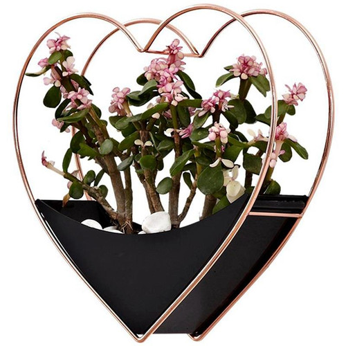 Flower Pot Heart Hang Basket
