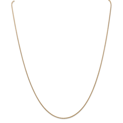 14K 1.4mm Round Snake Chain: 10.68gm, 30in long, 1.4mm wide