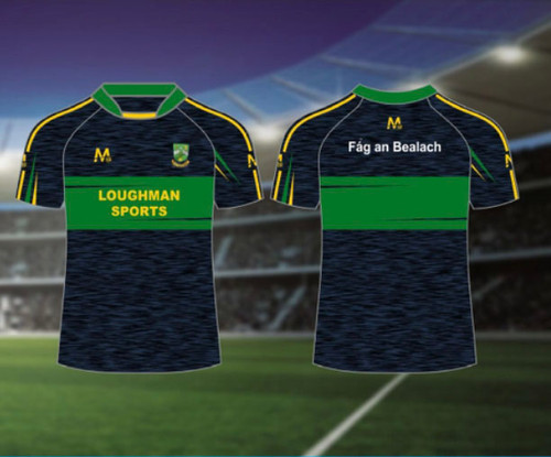 Blayney Faughs Away Jersey