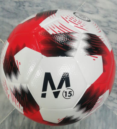 M15 Stadium Soccer Ball - Red/White