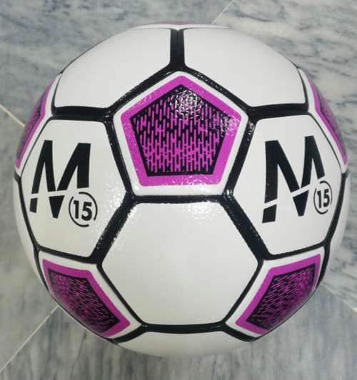 M15 Stadium Soccer Ball - Purple/White