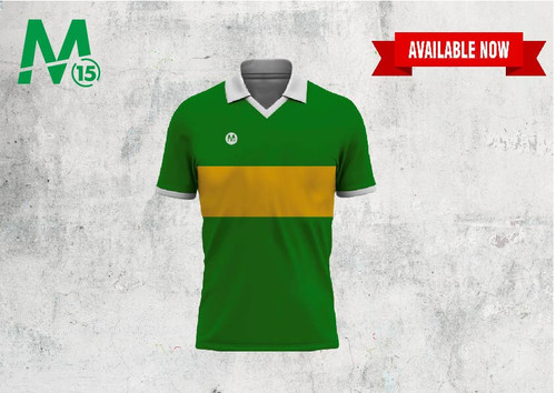 Retro Jersey - Green & Gold