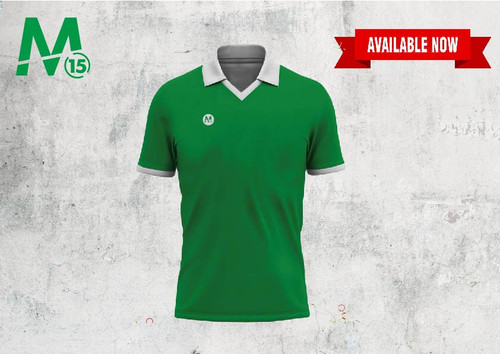 Retro Jersey - Green/White