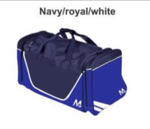 M15 Brooklyn Kit Bag - Navy/Royal/White
