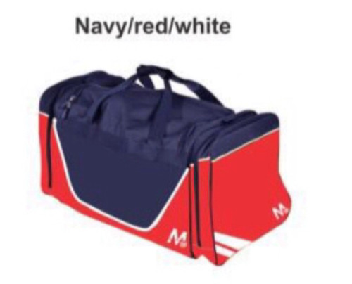 M15 Brooklyn Kit Bag - Navy/Red /White