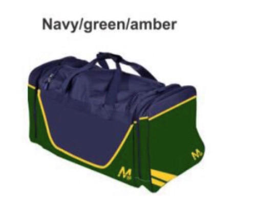M15 Brooklyn Kit Bag - Navy/Green/Gold