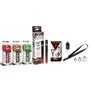 Vapebrat K.I.S.S Pen With 3x 3750MG Variety CBD Cartridges, Charger, & Vape Leash