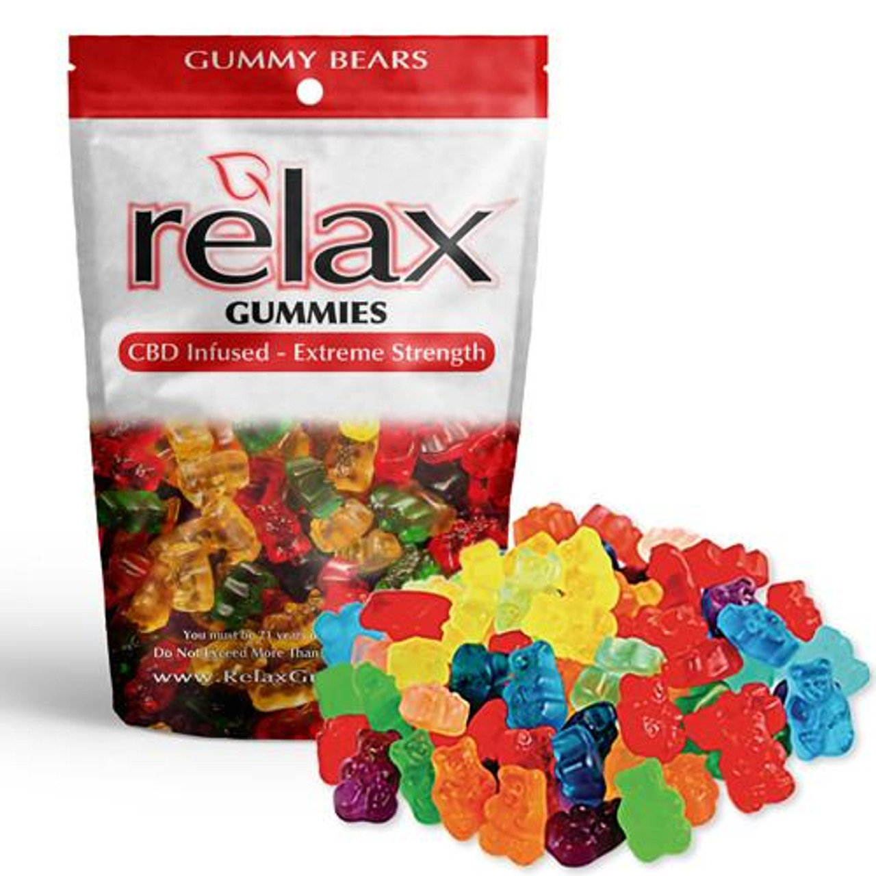 Chill Gummies - CBD Infused Gummy Bears [Edible Candy]
