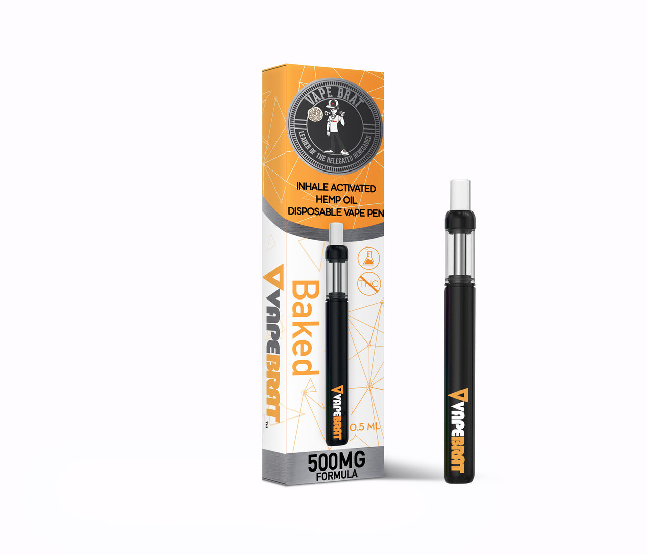 VapeBrat CBD Disposable Pen 500mg CBD