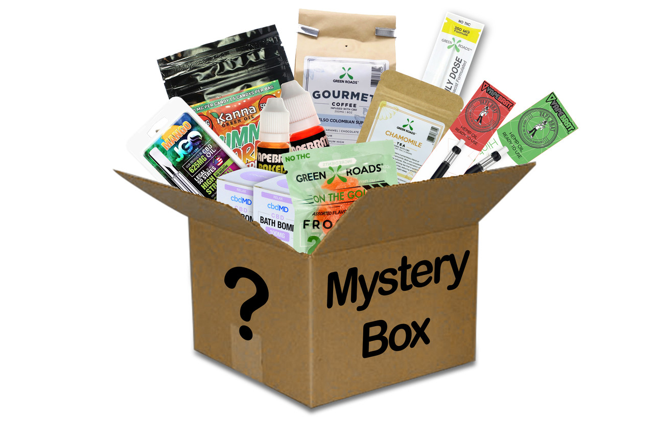 HookahTown CBD Mystery Box $200 Value Box